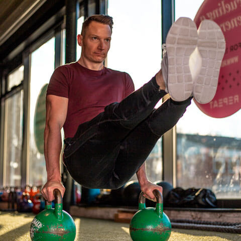 schandorf fitness - Kenneth under træning